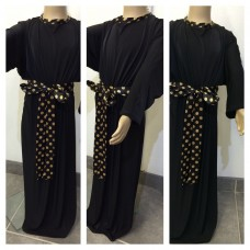 kids long black dress ( abaya )